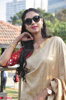 Angana Roy in Silk Saree at Teaching Tree Carnival .xyz 034.JPG