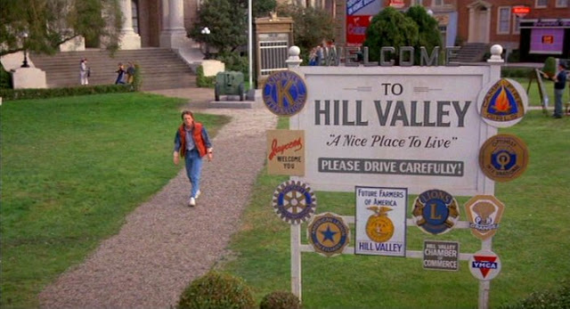 Hill Valley mentioned in Teen Wolf