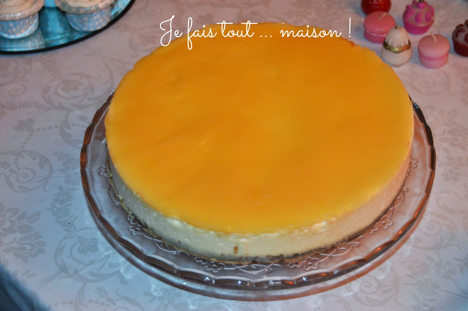 Cheesecake au lemon curd