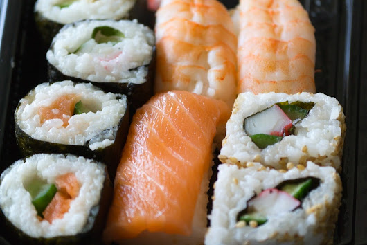 Health benefits of eating sushi