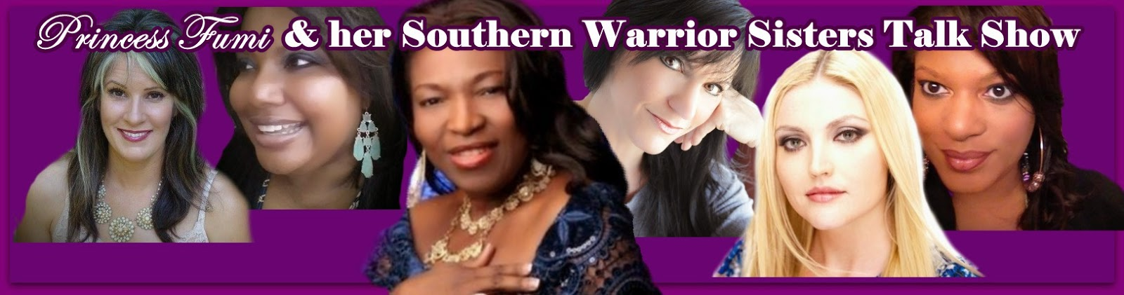 http://www.blogtalkradio.com/princessfumiandhersouthernwarriorsisters