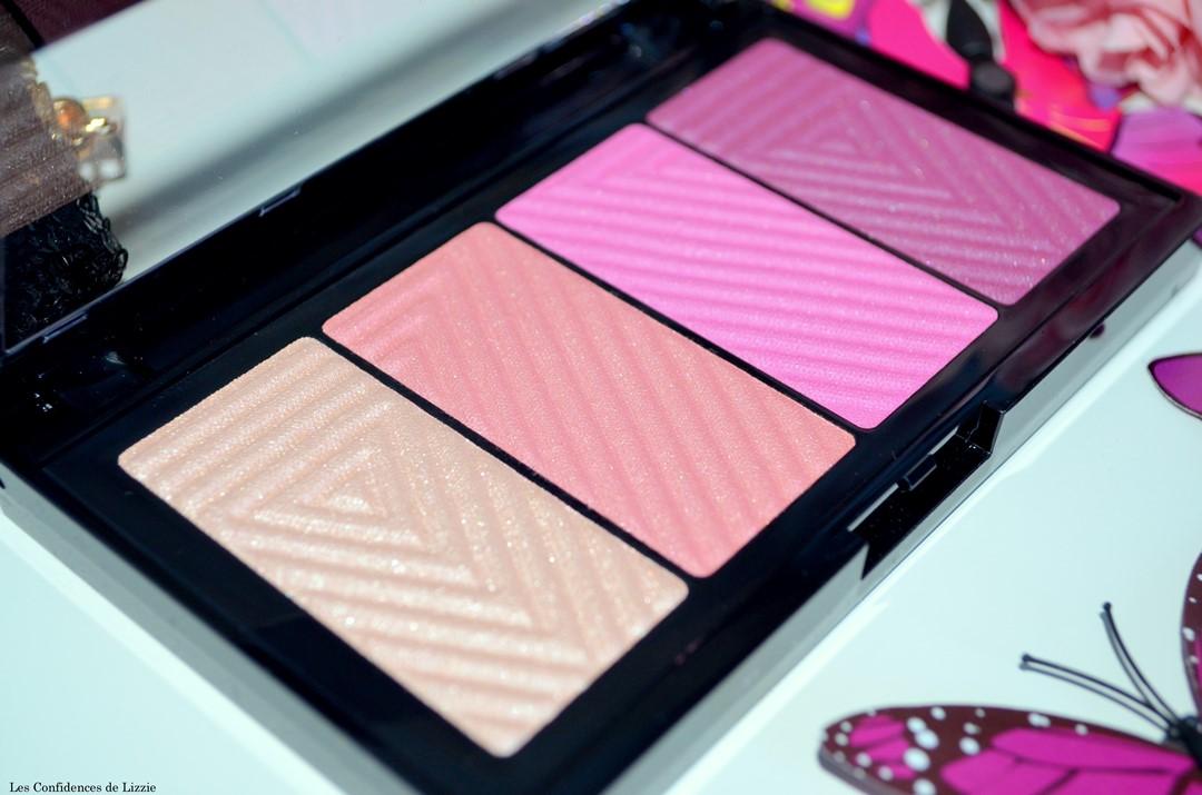 Maybelline - palette - blush pas cher - enluminateur accessible - palette compacte pour le teint - maquillage pour le teint - teint - produits de maquillage - produits de maquillage pour le teint pas chers - produits pigmentés pour le teint - blush rosé - blush fushia - enluminateur doré - enlumintauer bronzé - blush orangé