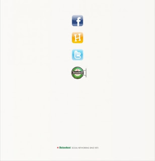 Green Pear Diaries, publicidad creativa, minimalista, Heineken