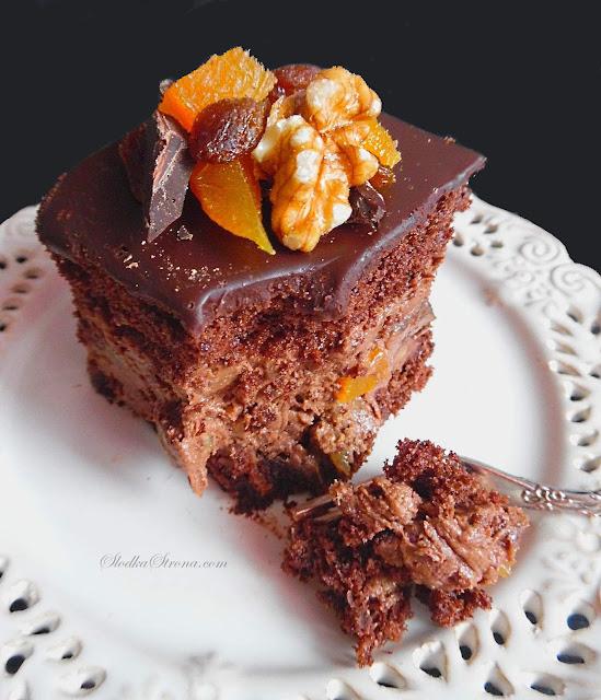 Rewelacyjne Ciasto Bakaliowo Czekoladowe - Przepis - Słodka Strona Rewelacyjne czekoladowe ciasto z aksamitnym kremem i naprawdę sporą ilością orzechów, suszonych owoców oraz dużych kawałków czekolady to propozycja idealna zarówno na Boże Narodzenie jak i inne rodzinne uroczystości. Ciasto wymarzone dla wielbicieli bakalii i czekolady.     ciasto czekoladowe  ciasto czekoladowe z kakao  ciasto czekoladowe wilgotne  ciasto czekoladowe na oleju  pyszne ciasto czekoladowe  ciasto czekoladowe z czekolady  ciasto czekoladowe duża blacha  prosty przepis na ciasto czekoladowe  ciasto czekoladowe brownie  pyszne ciasto czekoladowe  pyszne ciasto czekoladowe wielkie żarcie  ciasto czekoladowe z kakao  ciasto czekoladowe na oleju  ciasto czekoladowe wilgotne  ciasto czekoladowe duża blacha  ciasto czekoladowe z czekolady  prosty przepis na ciasto czekoladowe ciasto czekoladowe z orzechami  wilgotne ciasto czekoladowe z orzechami  ciasto czekoladowe z orzechami moje wypieki  ciasto czekoladowe z orzechami i jabłkami  ciasto czekoladowe z orzechami kwestia smaku  ciasto czekoladowe z orzechami i karmelem  ciasto czekoladowe z orzechami laskowymi  ciasto z czekoladą i orzechami ciasto czekoladowe z kremem i orzechami  ciasto z orzechami włoskimi i kremem  kruche ciasto z orzechami w karmelu  ciasto z kremem i orzechami  ciasto z karmelem i orzechami włoskimi  ciasto z orzechami i karmelem przepis  biszkopt z karmelem i orzechami  ciasto czekoladowe z karmelem i orzechami ciasto czekoladowe z bakaliami  szybkie ciasto czekoladowe z bakaliami  wilgotne ciasto czekoladowe z bakaliami  ciasto czekoladowe z bakaliami bez pieczenia  szybkie ciasto z bakaliami  ciasto z bakaliami inaczej  ciasto z bakaliami na oleju  ciasto czekoladowe z orzechami tort czekoladowy  tort czekoladowy urodzinowy  tort czekoladowy dla dzieci  tort czekoladowy przepis łatwy  tort czekoladowy z wiśniami  tort czekoladowy moje wypieki  tort czekoladowy kinder  tort czekoladowy z mascarpone blog z ciastami naj