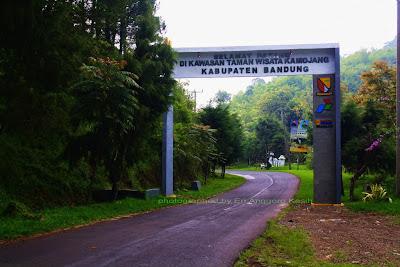 Perbatasan Kabupaten Garut dengan Kabupaten Bandung.