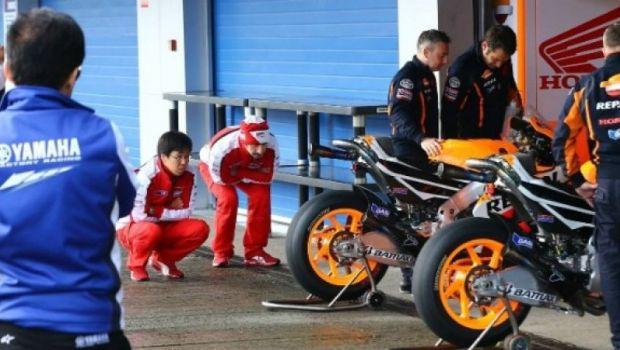 Marquez-Pedrosa Gagal Mencoba Motor Baru di Misano