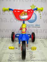 Sepeda Roda Tiga BMX PMB 919 Safari-Blue