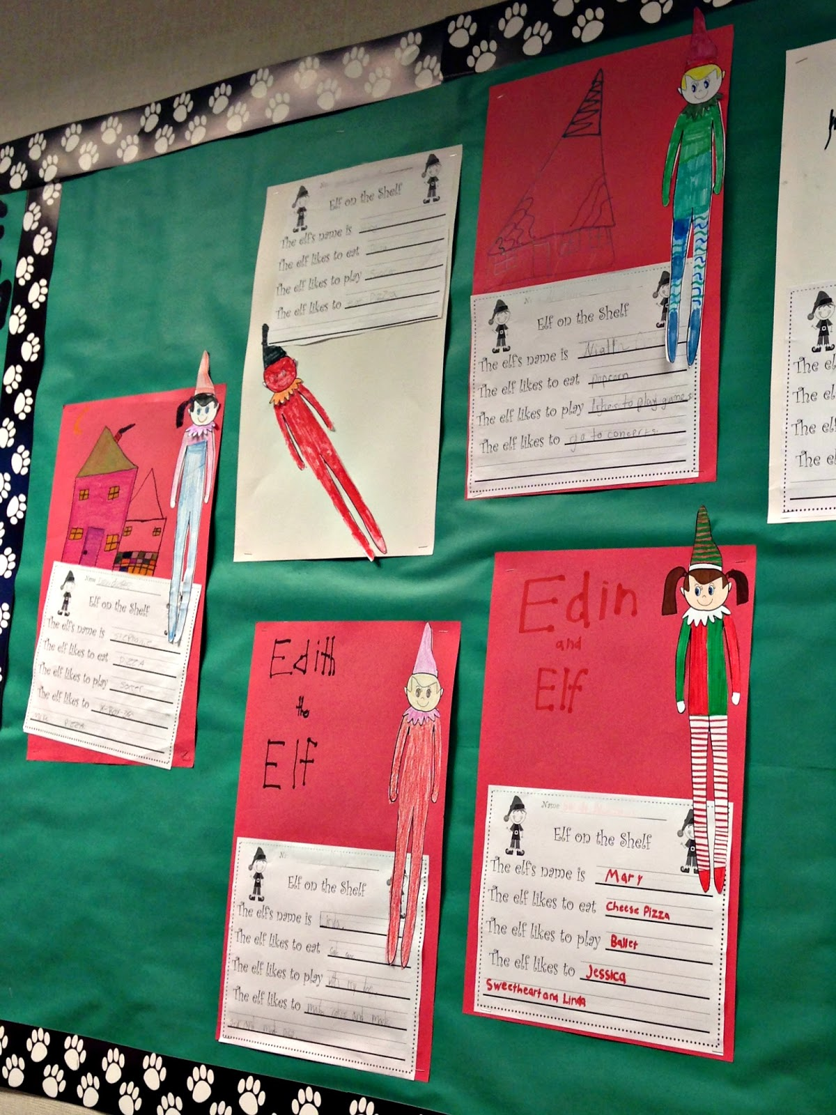 All Things Katie Marie Elf On The Shelf In The Classroom