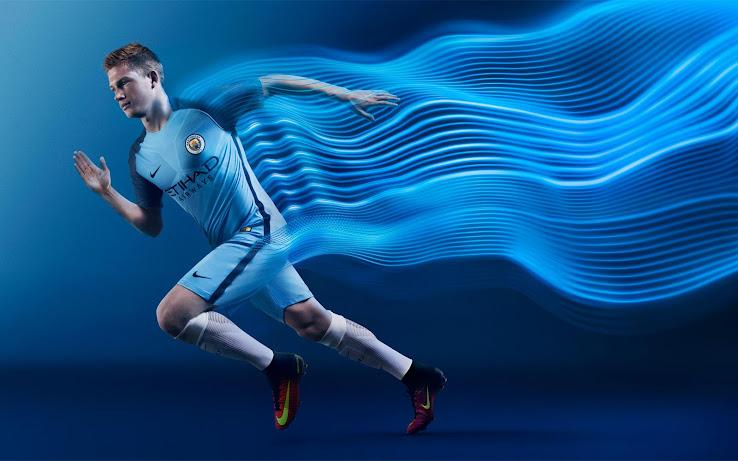 Primera Camiseta Manchester City 2016/17