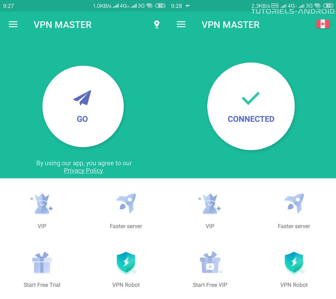 VPN Master Android