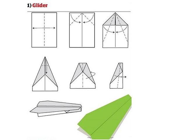 Preferência Como fazer avião de papel incrível para humilhar seus amigos [12  GD42