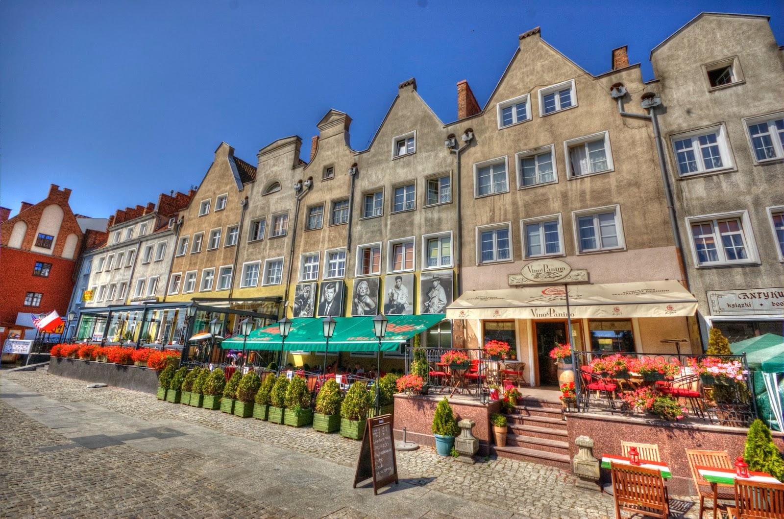 promenada w Gdańsku
