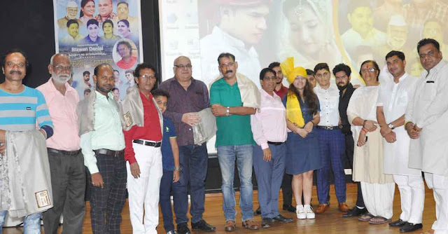 Bride's voice star cast at SRS tower, Faridabad on the release of the movie