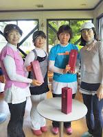 デポーム・ワールド航空杯 第二回ビギナー大会 3位:佐野陽子 阿部牧子 4位:青木純子 青木恵津子