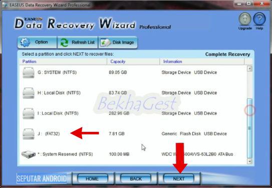 Cara Mengembalikan Data Yang Hilang Atau Terhapus Pada Flashdisk,Hardisk Eksternal Dan Memory Card Handphone 99% Berhasil