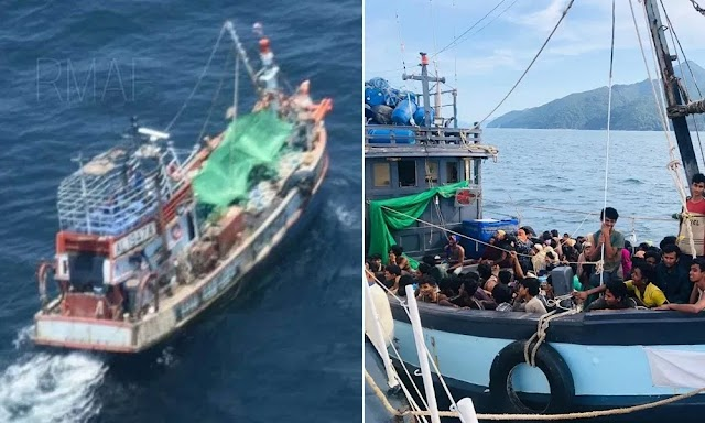 Dua bot Rohingya tunggu 'line clear' ceroboh masuk Malaysia