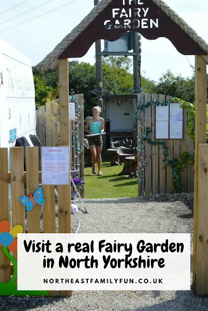 Visit a real Fairy Garden Cafe in Filey, North Yorkshire #TheFairyGarden #Cafe #Filey #NorthYorkshire