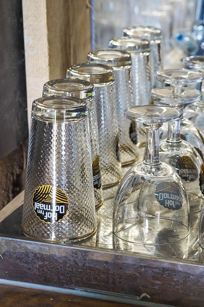 Hof Ten Dormaal beer glasses