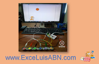 Colores con Scratch 3.0 + Makey-Makey