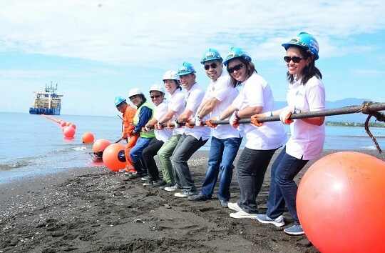 Globe Lands Southeast Asia-United States Submarine Cable System in Davao City