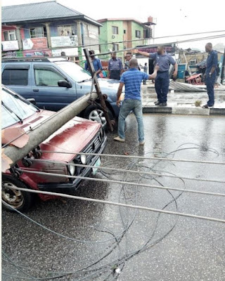 Photos: Properties Destroyed After Heavy Rainfall In Port Harcourt