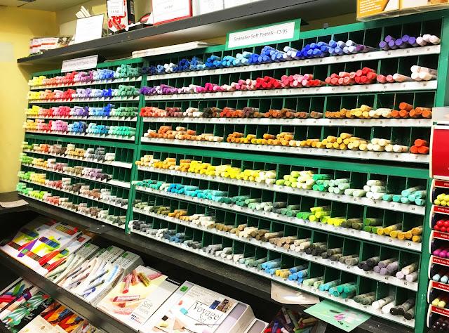 Art supplies blog post