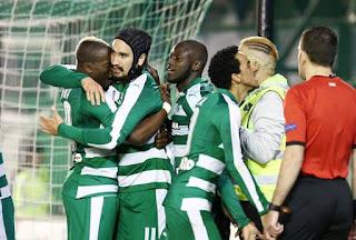 Τα στιγμιότυπα του αγώνα Παναθηναϊκός - ΠΑΟΚ 2-0 για τα ημιτελικά του κυπέλλου