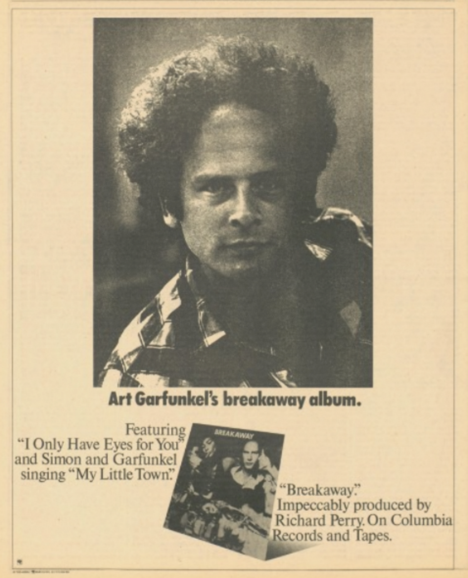 99 Miles From La Art Garfunkel 40 year itch: 40 year itch: 1975's quintessential recording?