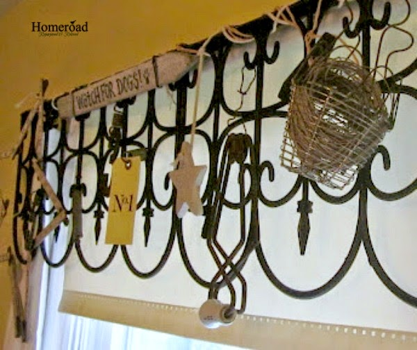 Creating a Valance With Fencing- Project Challenge