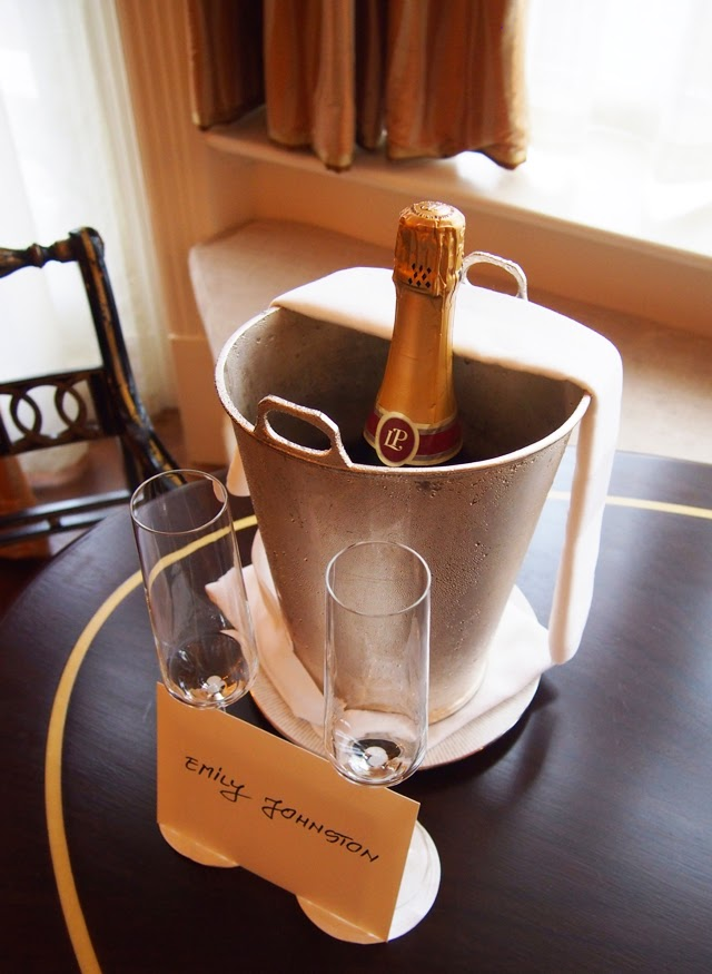Champagne at The Connaught