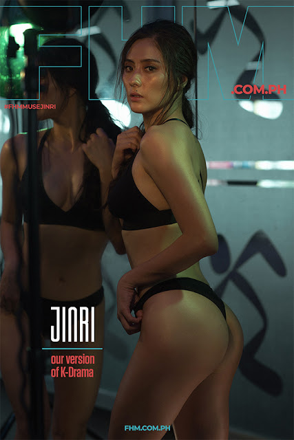 FHM November 2018 Muse Cover Jinri Park
