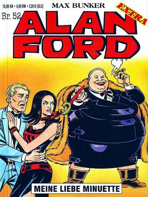 Meine liebe Minuette - Alan Ford