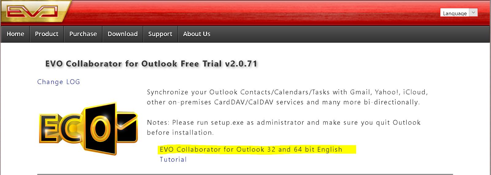 Outlook solutions, Google Calendar & Gmail synchronization