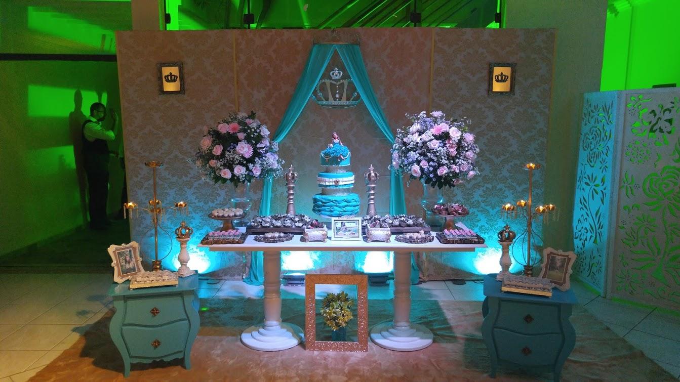 Decoracoes Para Festas 15 Anos: Momento Mágico Decorações : Festa 15 Anos Tifanny E Dourado