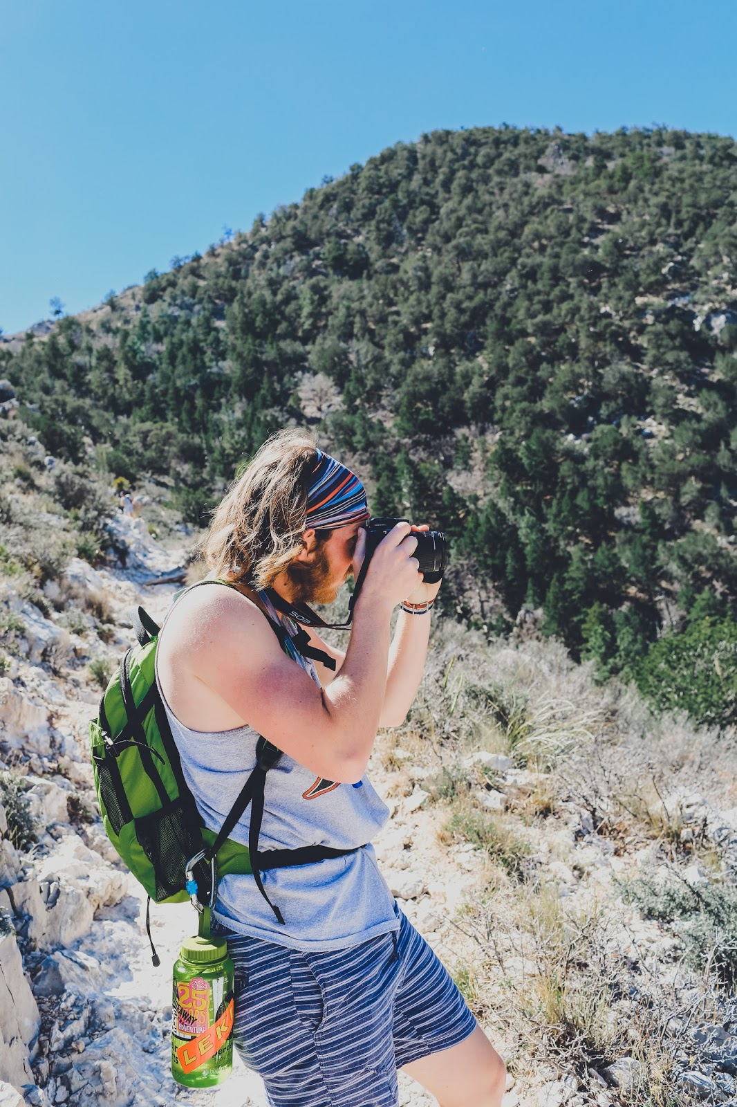 Hiking Guadalupe Peak National Park