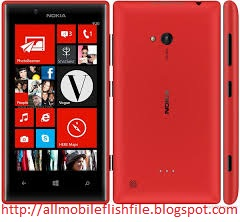 Nokia Lumia 720 RM-885 Latest Flash File/Firmware Download