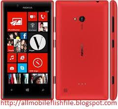 Nokia Lumia 720 RM-885 Latest Flash File/Firmware Download