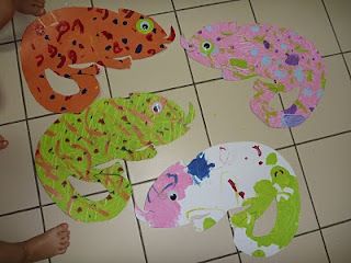 eric carle chameleon template - the homeschool den seahorse art based on eric carle 39 s book