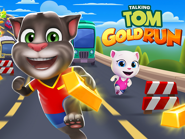 تحميل لعبة tom gold run مهكرة