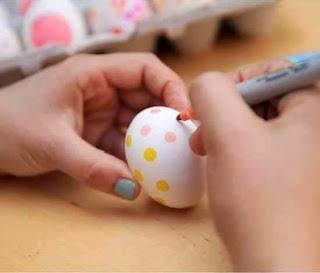 Membuat Kerajinan Tangan Aneka Telur Hias 4