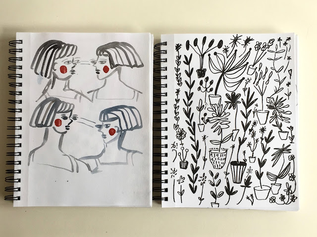 Lizzie Christian, Rare Press, sketchbooks, Sketchbook Conversations