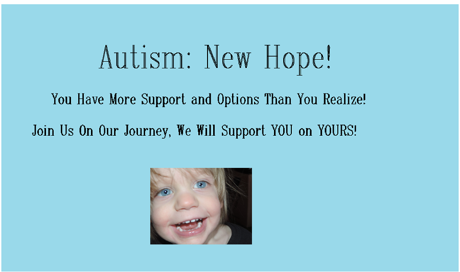 Autism: A New Hope