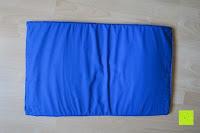 Matte Rückseite: High Pulse Akupressur-Set - Akupressurmatte & Akupressurkissen für eine einfache und wirksame Behandlung von Schmerzen und Verspannungen am ganzen Körper. (Blau)