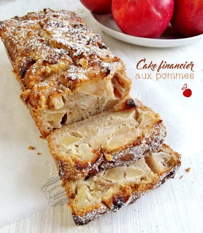 financier pomme cannelle