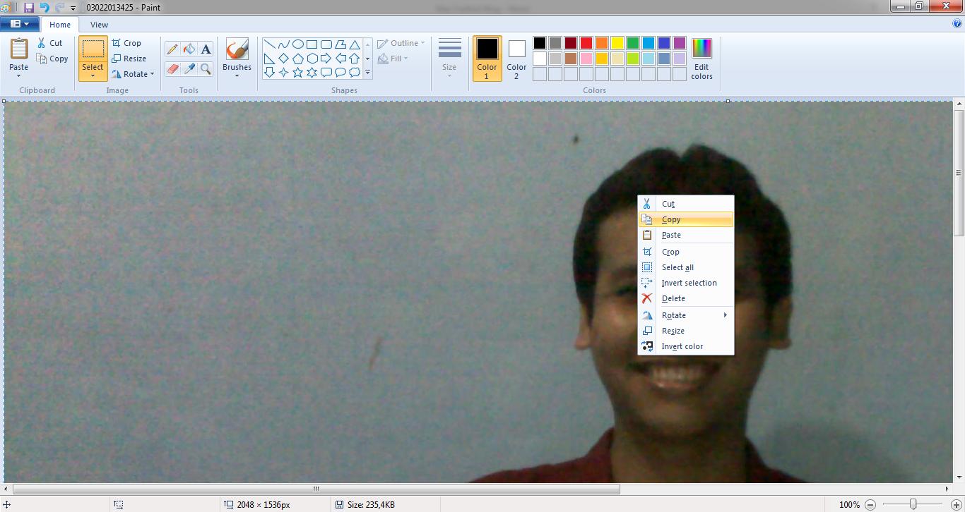 Cara Mengganti Background Foto Dengan Microsoft Excel Mas