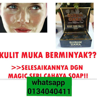 Magic Seri Cahaya Soap jsd