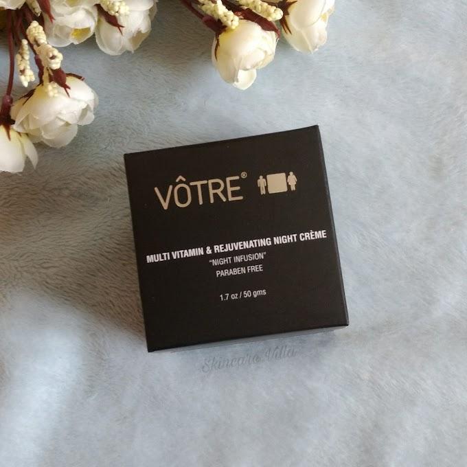 Votre Multi Vitamin and Rejuvenating Night Crème Review