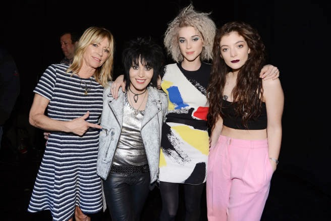 Kim Gordon Joan Jett St. Vincent Lorde