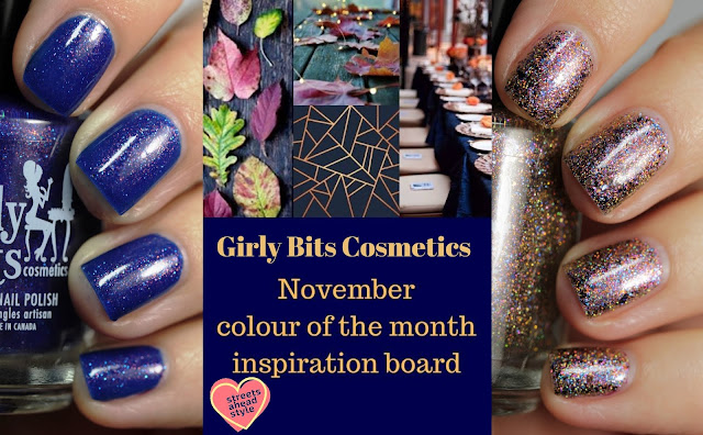 Girly Bits November 2018 CoTM swatches by Streets Ahead Style