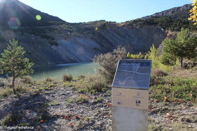 Mina Tumí, Zona paleontològica de Fumanya, BCIN, Serra d'Ensija, Alt Berguedà